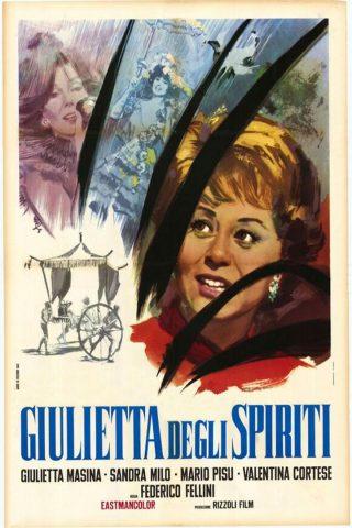Julia und die Geister - 1965 Filmposter