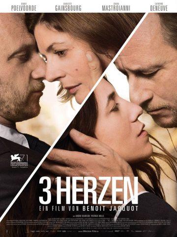 3 Herzen - 2014 Filmposter