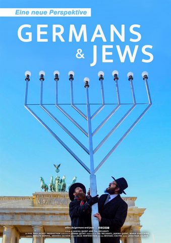 Germans and Jews - 2016 Filmposter