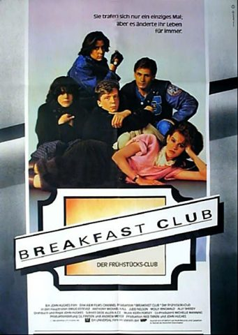 Breakfast Club - 1985 Filmposter