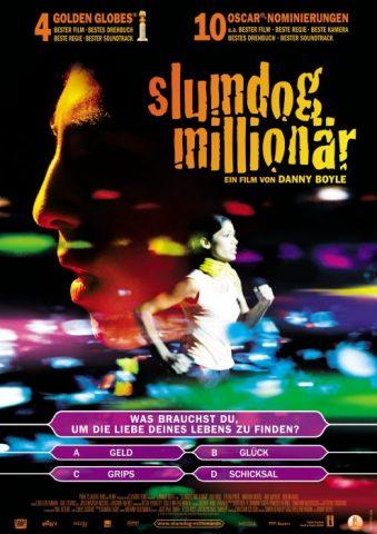 Slumdog Millionär - 2008 Filmposter