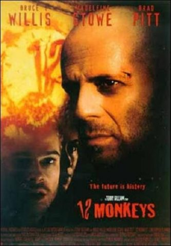 12 Monkeys - 1995 Filmposter