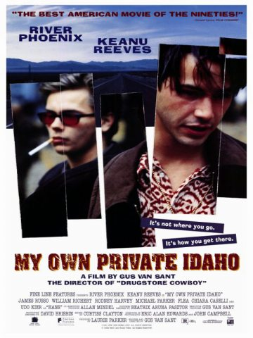 My Private Idaho - 1991 Filmposter