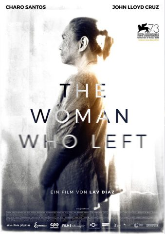 The Woman who left - 2016 Filmposter