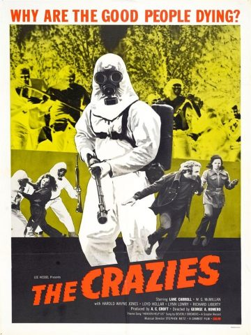 The Crazies - 1973 Filmposter