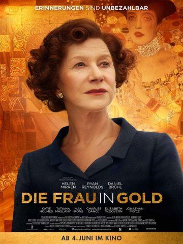 Die Frau in Gold - 2015 Filmposter