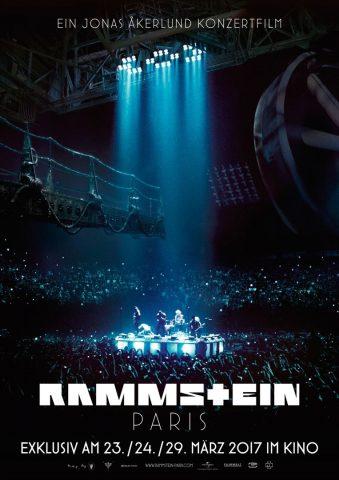 Rammstein: Paris - 2017 Filmposter