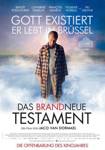 Das brandneue Testament - 2015 Filmposter