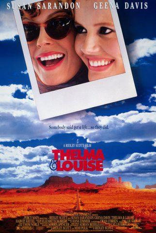 Thelma & Louise - 1991 Filmposter