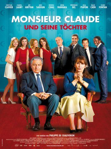 Monsieur Claude und seine Töchter - 2014 Filmposter