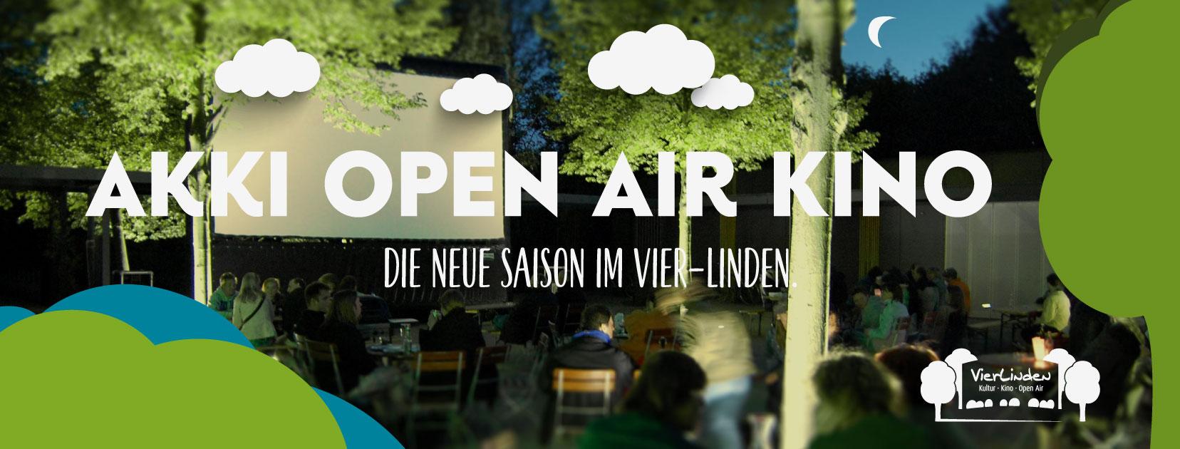 Vier-Linden Open-Air Kino Banner