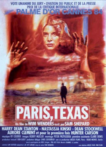 Paris, Texas - 1984 Filmposter
