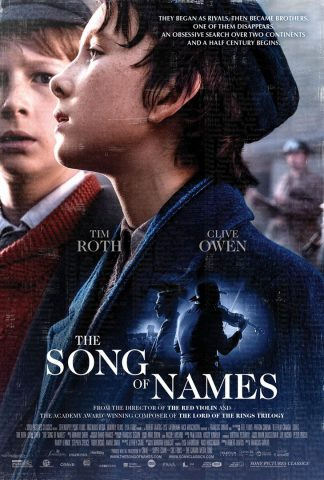 The Song of Names - 2019 Filmposter
