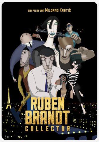 Ruben Brandt, Collector - 2018 Filmposter