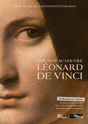 Eine Nacht im Louvre - 2020 Filmposter
