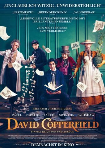 David Copperfield - 2019 Filmposter