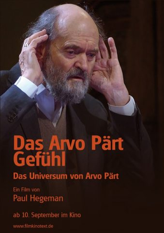 Das Arvo Pärth Gefühl - 2019 Filmposter