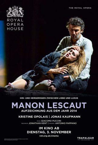 manon lescaut - 2014 poster