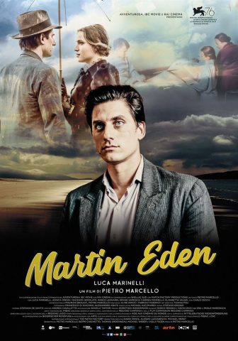 Martin Eden - 2019 Filmposter