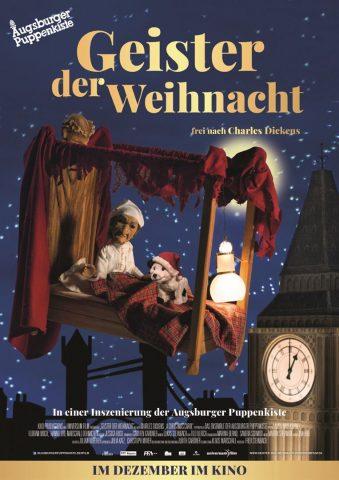 augsburger puppenkiste: geister der weihnacht - 2018 poster