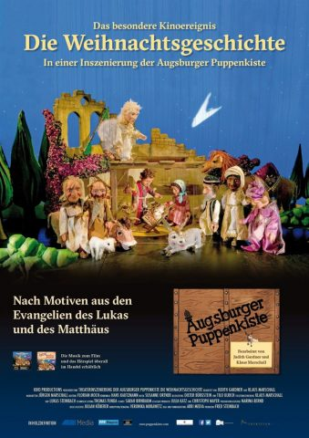 Augsburger Puppenkiste: Die Weihnachtsgeschichte - 2016 poster