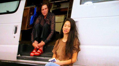 Frances-McDormand und Chloe-Zhao / Preisverleihung - 2020