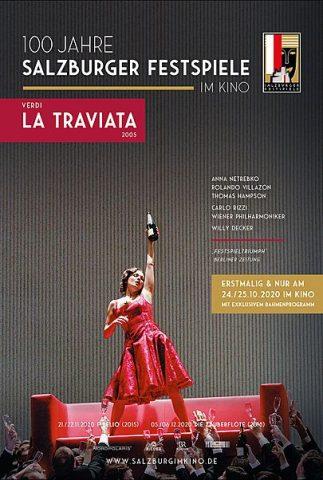La Traviata/ salzburger Festspiele 20/21 - 2005 poster