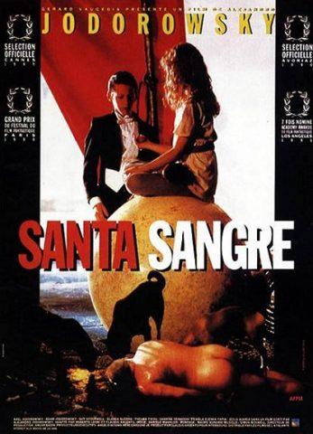 Santa Sangre - 1989 Filmposter