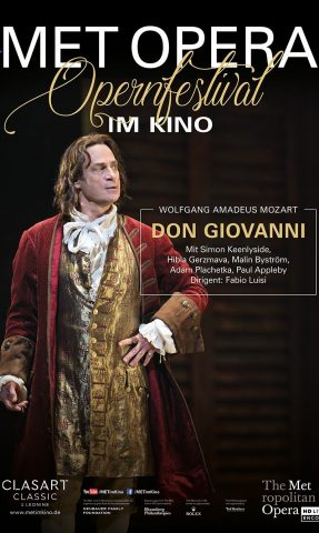 MET: 2021 - Don Giovanni poster