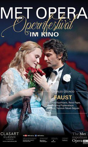 MET: 2021 - Faust poster