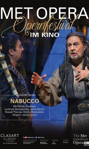 MET: 2021 - Nabucco poster
