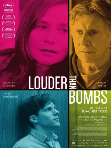 Louder than Bombs - 2014 Filmposter