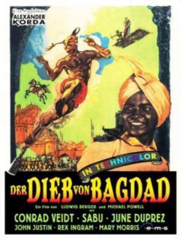 Der Dieb von Bagdad - 1940 poster