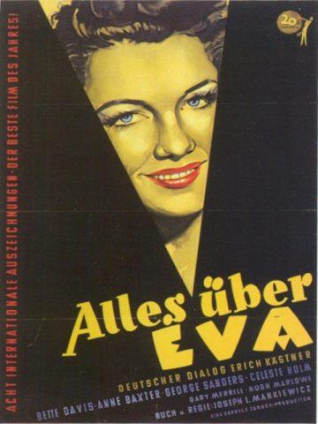 Alles über Eva - 1950 poster