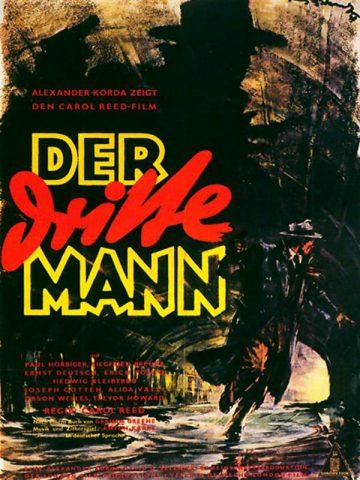 Der dritte Mann - 1949 poster