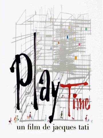 Playtime - 1968 poster