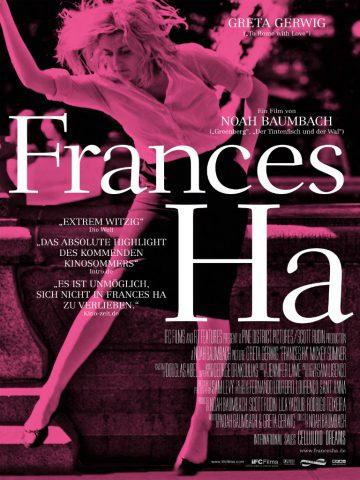 Frances Ha - 2012 Filmposter