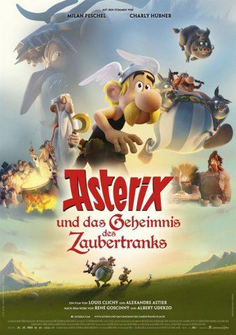 Asterix und das Geheimnis des Zaubertranks - 2018 Filmposter
