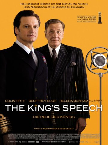 The King's Speech - 2010 Filmposter