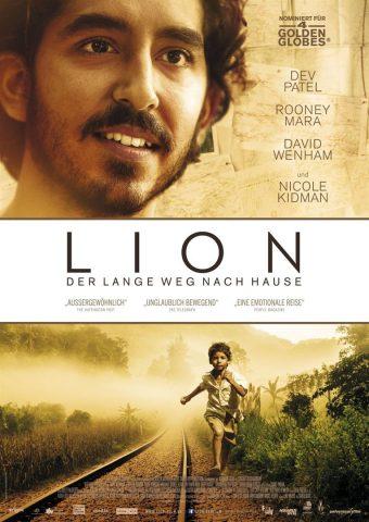 Lion - 2016 Filmposter