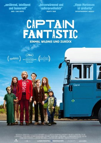 Captain Fantastic - 2016 Filmposter