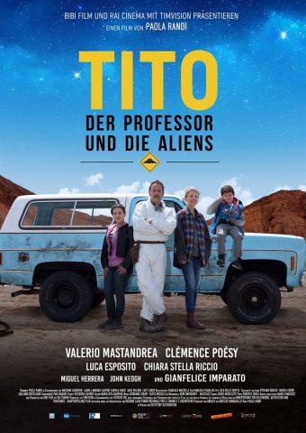 Tito der Professor und die Aliens - 2018 poster