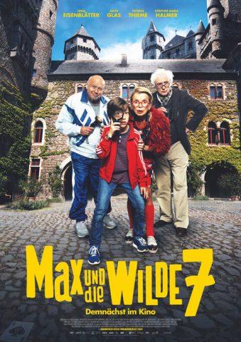 Max und die wilde 7 - 2020 Filmposter