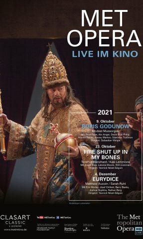 MET 20/21 Poster: Boris Godunow