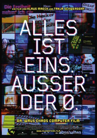 ALLES IST EINS. AUSSER DER 0. - 2021 poster