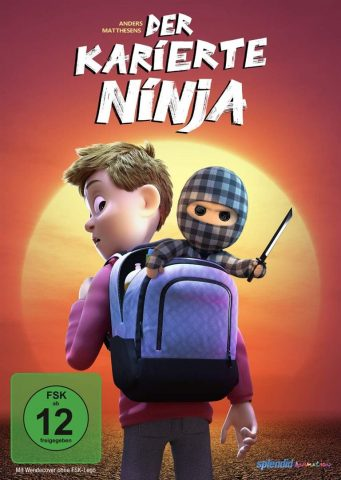 Der karierte Ninja - 2021 Filmposter