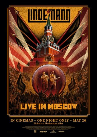 Lindemann: Live in Moscow - 2021 poster