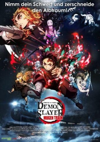 Demon slayer - 2021 poster