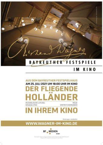 Bayreuth Festspiele 2021 - Der fliegende Holländer poster