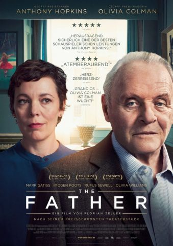 The Father - 2021 poster